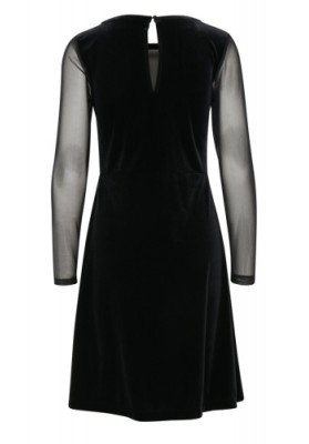 B Young Plain Black velvet WAS £49.00 NOW